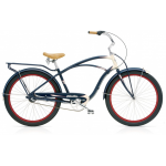 "Велосипед 26"" Electra Super Deluxe 3i Men's navy-Cream"