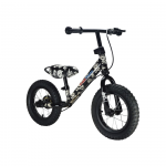 "Беговел 12"" Kiddimoto Super Junior MAX SUPER SKULLZ алюмин"