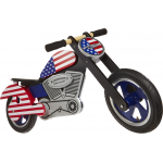 "Беговел 12"" Kiddimoto Chopper USA деревянный"
