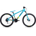Велосипед GHOST 4-X COMP blue/black/lime green RH38_2014