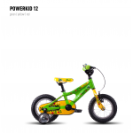 Велосипед GHOST Powerkid 12 green/yellow/red 2016