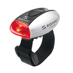 Фара MICRO SILVER/LED-Red Sigma Sport