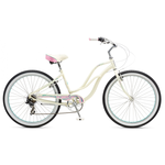 "Велосипед 26"" Schwinn Cruiser Sprite Women 2017 white"