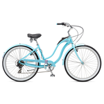 "Велосипед 26"" Schwinn Hollywood Women 2017 blue"