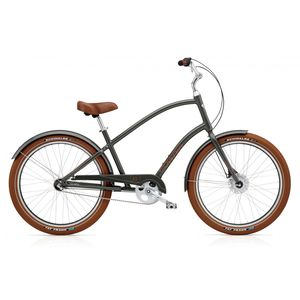 "Велосипед 26"" Electra Townie Balloon 3i Men's army Grey"