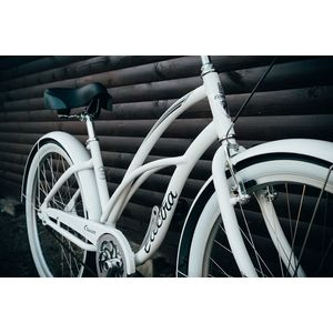 "Велосипед 26"" Electra Cruiser Lux 3i Ladies White"