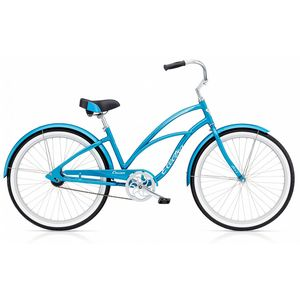 "Велосипед 26"" Electra Cruiser Lux 3i Ladies Blue"