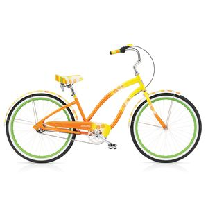 "Велосипед 26"" Electra Daisy 3i Ladies' Al Yellow fade"