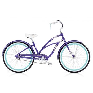"Велосипед 26"" Electra Hawaii Custom 3i (Alloy) Ladies' Purple Metallic"