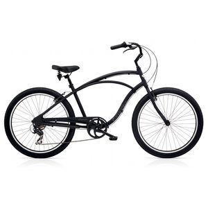 "Велосипед 26"" Electra Cruiser Lux 7D Men's Black Matte"