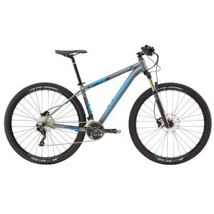"Велосипед 29"" Cannondale Trail 1 рама - M 2016 серый"