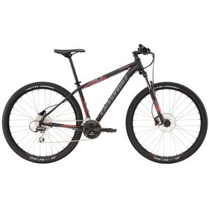 "Велосипед 27,5"" Cannondale Trail 6 рама - L 2016 черный"