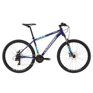"Велосипед 27,5"" Cannondale Trail 8 рама - L 2016 синий"
