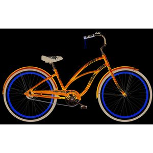 "Велосипед 26"" Electra Hawaii Custom 3i (Alloy) Ladies' Blue metallic"