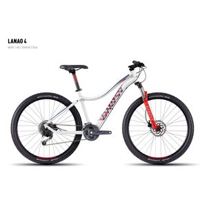 Велосипед GHOST Lanao 4 white/red/darkred/blue S_2016